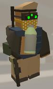 Player holding Bottled Coconut
