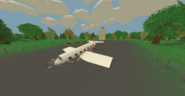 Canada crashed airliner