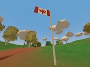 Fernwood Farm - Canada's flag