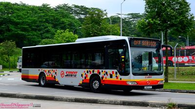 New SMRT livery