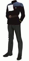 Uniform dress black lt jg