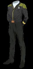 Uniform Jacket Admiral Gold