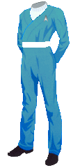 Uniform SFFC Utility Blue