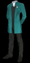 Uniform Smock Officer Blue