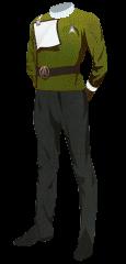 Uniform Dress Officer Gold