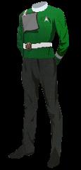 Uniform Dress Enlisted Green