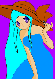 Anime Girl Sunhat base by ArT cHiCk95