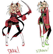 Akemi konai dark and power append by rockleeofthesand-d65dgnz