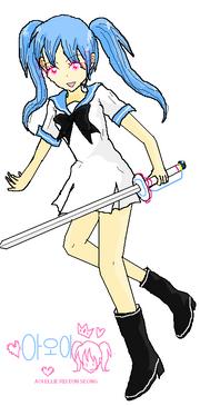 Aoi Illustration