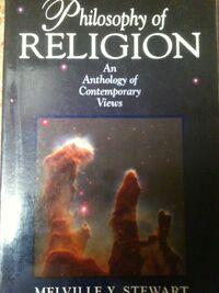 Philosophy of Religion Anthology