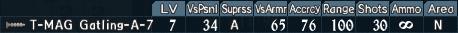 Gatling turret 2-7
