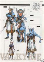 Valkyrie Profile-Material Collection Artbook 035
