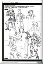 Valkyrie Profile-Material Collection Artbook Sketch 1