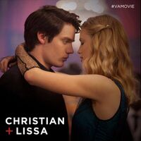 Lissa and Christain at the dance