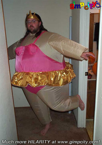 File:Fat nerd in ballerina costume.jpg