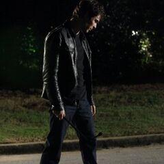 Damon on Elm Street.
