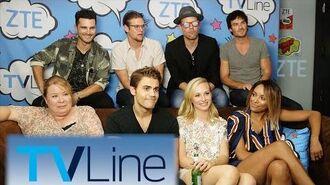 Vampire Diaries Last-Ever Comic-Con Interview TVLine Studio Presented by ZTE Comic-Con 2016