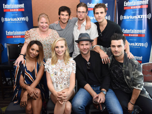 File:2016-07-23 SDCC EW Radio Kat Graham Julie Plec Candice King Ian Somerhalder Zach Roerig Matt Davis Paul Wesley Michael Malarkey.jpg