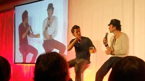 Bloody Night Con 2 - May 6th, 2012 - Paul Wesley and Ian Somerhalder (I)