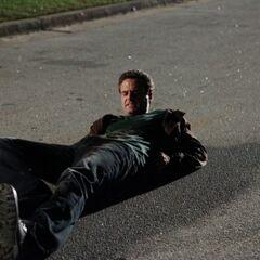 Logan on the ground.