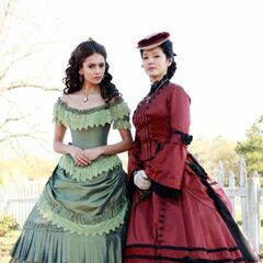Katherine and Pearl in 1864.