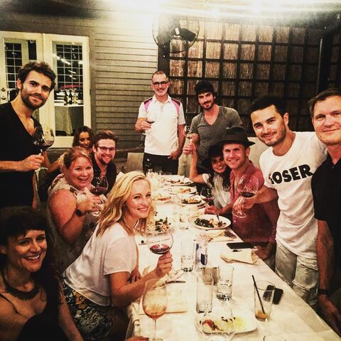 File:2016-07-15 6 Nadine Lewington Paul Wesley Julie Plec Kat Graham Zach Roerig Candice King Pascal Verschooris Ian Somerhalder Nikki Reed Matt Davis Michael Malarkey Kevin Williamson.jpg