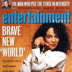 Entertainment Weekly — Apr 12, 1991, United States, Jasmine Guy