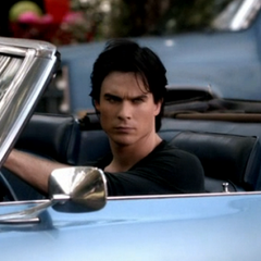Damon in his car during Ghost World