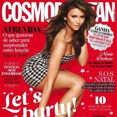 Cosmopolitan — Dec 2013, Portugal, Nina Dobrev