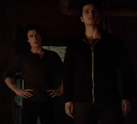 Image - Damon and Enzo in 5x13...png | The Vampire Diaries ...