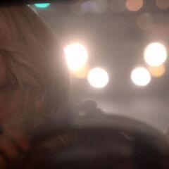 Rebekah driving