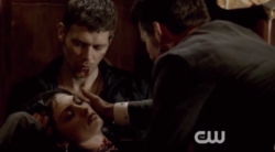Klaus-Hayley and Elijah 1x22..