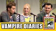 The Vampire Diaries Comic Con Panel - Ian Somerhalder, Kat Graham, Paul Wesley, Candice Accola
