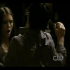 Damon saves Elena
