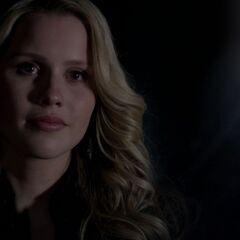 Rebekah says goodbye