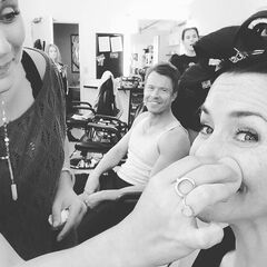 Todd Lasance, Annie Wersching September 3, 2015
