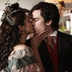 Damon and Katherine flashback