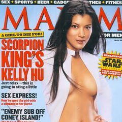Maxim — May 2002, United States, Kelly Hu
