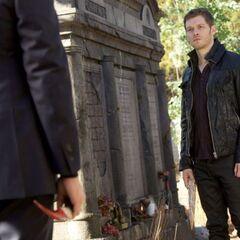 Klaus versus Elijah