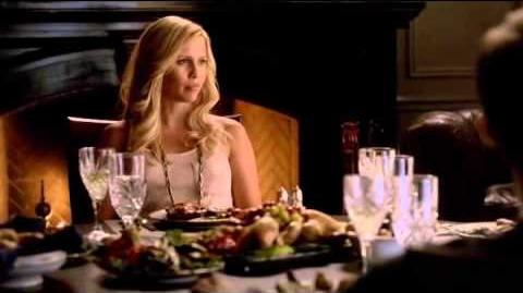 Vampire Diaries 4x04 The Five - Klaus tells the story of Rebekah and The Five in the 12th Century