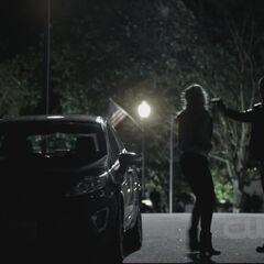 Brady shoots Caroline.