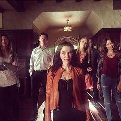 Elizabeth Blackmore, Justice Leak, Annie Wersching, Teressa Liane, Jaiden Kaine, Scarlett Byrne October 7, 2015