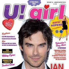U! Girl — Feb 2013, Greece, Ian Somerhalder
