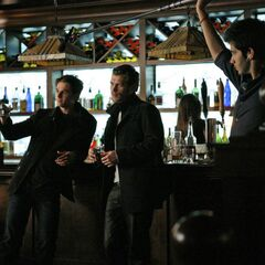 Behind the scenes - Bar scene