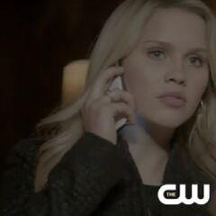 Rebekah on the phone