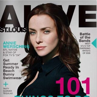 Alive StL — May 2009, United States, Annie Wersching