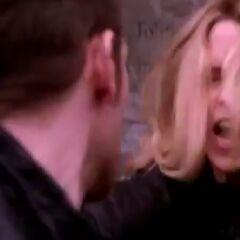 Klaus stabs Rebekah