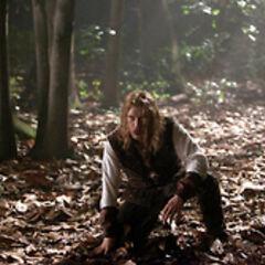 Klaus prepares to turn