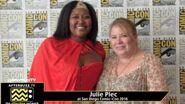 Julie Plec (The Vampire Diaries) at San Diego Comic-Con 2016