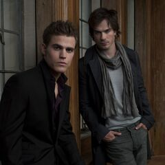 Stefan, Damon in Greystone Manor Promo